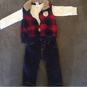 3 Piece Vest Outfit